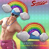 [SWaGGa] Original Mesh Pride Rainbow Hat with Resize