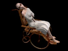 Asylum Girl in Wheelchair - Full Perm
