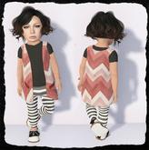 KiddyWinks [TD Clothing!] * Boho Cardy [Red] - MESH
