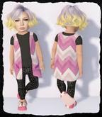 KiddyWinks [TD Clothing!] * Boho Cardy [Pink] MESH