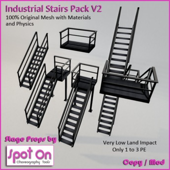 Spot On Industrial Stairs Pack V2