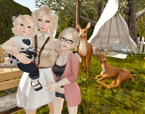 Candii Kitten Poses - Family Portrait 1