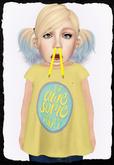 KiddyWinks [TD Clothing!] * Be Awesome [yellow] [Promo]