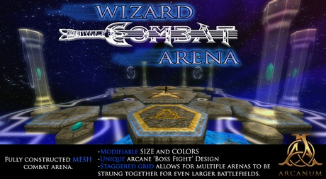 [The Arcanum] Wizard Combat Arena