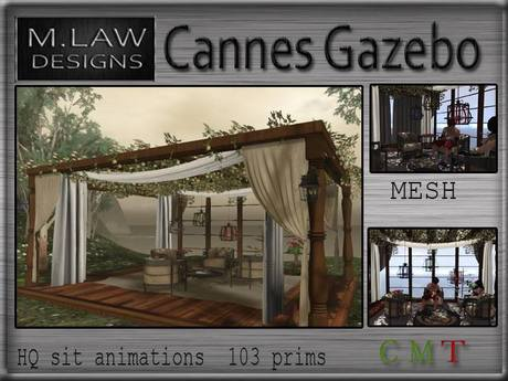 .:M.LAW:. Cannes Gazebo Box