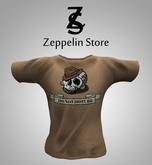 T Shirt - Skull - Zeppelin Store -