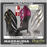 Bacio Mesh Slink  High MAGDALENA  Sandale High Heels BOX