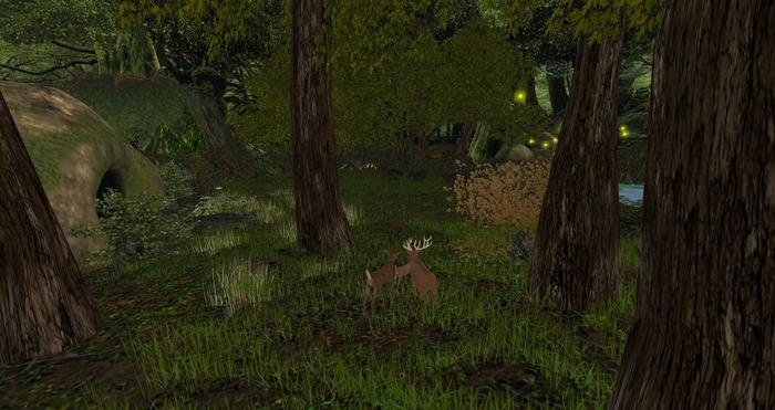 MC_4096 Forest skybox + extras