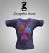 T Shirt - Geometric Purple - Zeppelin Store