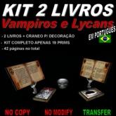 Livros: Vampiros e Lycans (BOX)