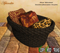 African pillows basket decorative TRANSFER (boxed)