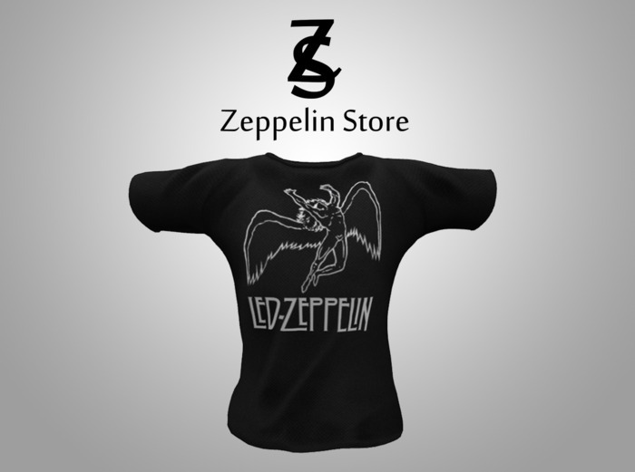 T Shirt - Collection of Rock - 1 - Zeppelin Store
