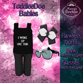 {Mercy's Bowtique} Flawless Outfit for ToddleeDoo Baby