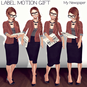 Label Motion - My Newspaper