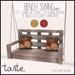 tarte. bench swing (light)