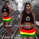 1 Love Ruffle Skirt Outty