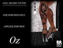 //Oz\\ MELODY TATTOO