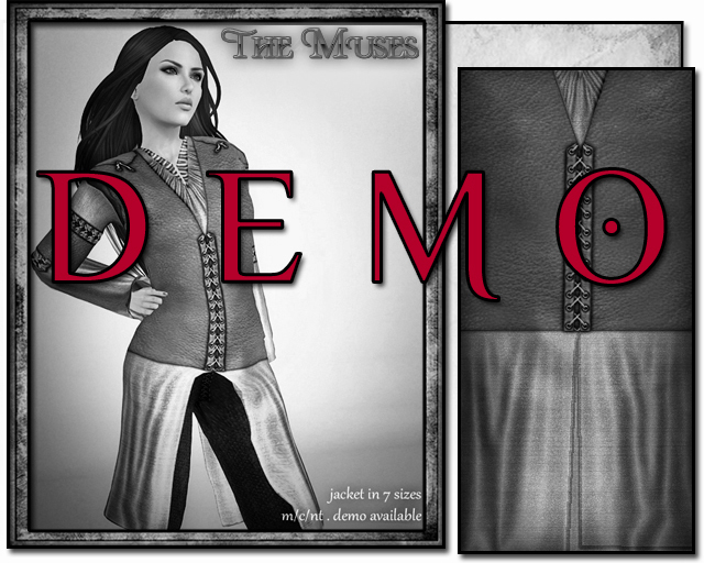 the muses . Bard (womens) . DEMO