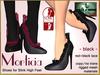 Bliensen + MaiTai - Morticia - Shoes for Slink High Feet - Black