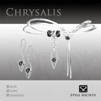 (Style Society) Chrysalis Black Diamond Set [Anniversary Promo]