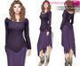 %50SUMMERSALE Full Perm Fitmesh and Rigged Boho Hem Top