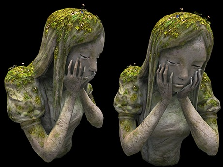 Crying Girl - Full Perm