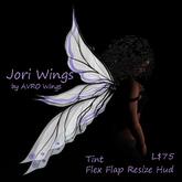 Jori Wings Flexy, Flap, Color Change