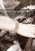 aru. Wood bangles maple (ADD)