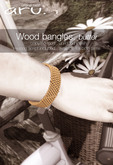aru. Wood bangles butter(ADD)