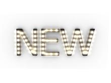 "[Px] ""NEW"" Illuminated Light Bulbs Sign"