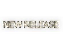 "[Px] ""NEW RELEASE"" Illuminated Light Bulbs Sign"