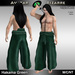 AB Hakama Pants Green
