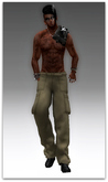Cargo Pants Plain  - (tm) Freeky
