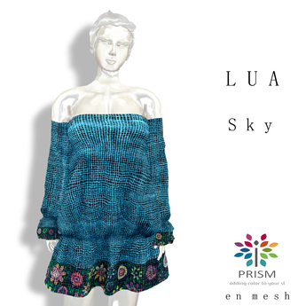 Prism Classic Designs by Journey: Lua Sun Day Dress in  Sky