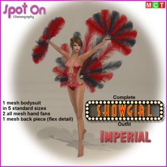 Spot On SHOWGIRL Outfit - Imperial - (boxed)