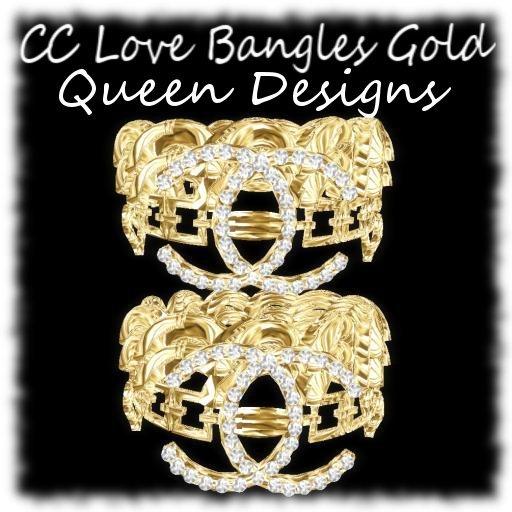 CC Love Bangles Gold