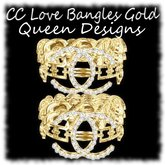 CC Love Bangles Gold