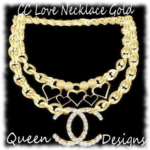 CC Love Necklace Gold
