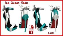[nfM] Ice Queen Heels (for Slink High Feet)