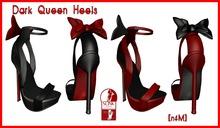 [nfM] Dark Queen Heels (for Slink High Feet)