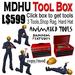 MDHU Tool Box - with animations