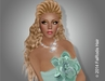 FaiRodis Divina hair blonde2 with hair decoration