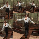 an lar [poses] Walk the Plank Series