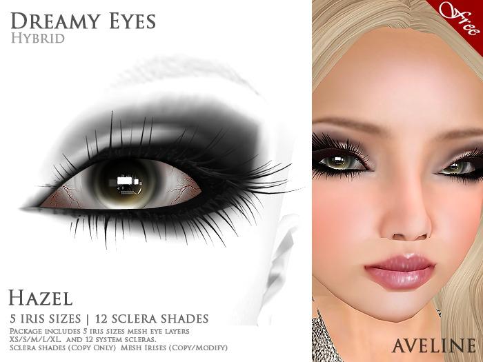 AVELINE Dreamy [Hybrid Eyes] - Hazel