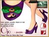 Bliensen + MaiTai - Ojo - spooky Shoes for Slink Mid - PURPLE