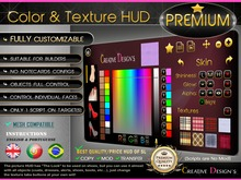 ::CreaTive DesiGn'S:: 0061 - Color and Texture (PREMIUM) HUD