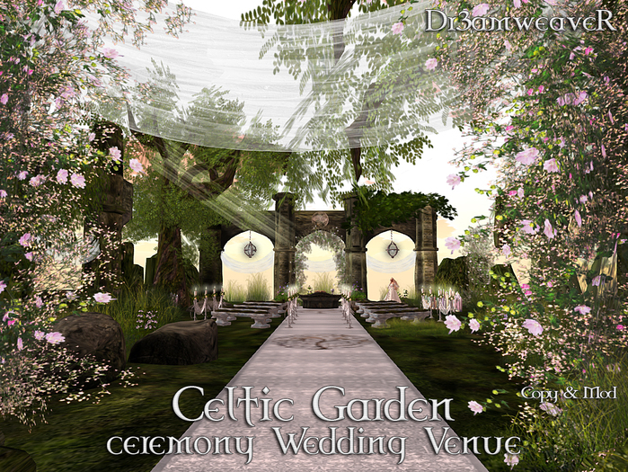 Second Life Marketplace Dr3amweaver Celtic Wedding Ceremony