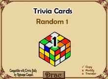 Trivia - Random #1 by Dracona