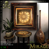 =Mirage= Wall Art & table set - Pirate 1