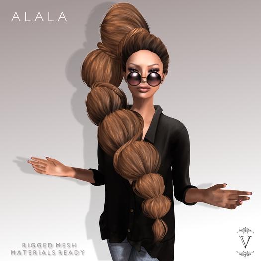 Vanity Hair: Alala-Dark Browns(MESH)